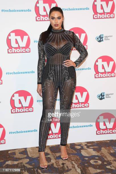 Anna Vakili attends The TV Choice Awards 2019 at Hilton Park Lane on September 9 2019 in London England