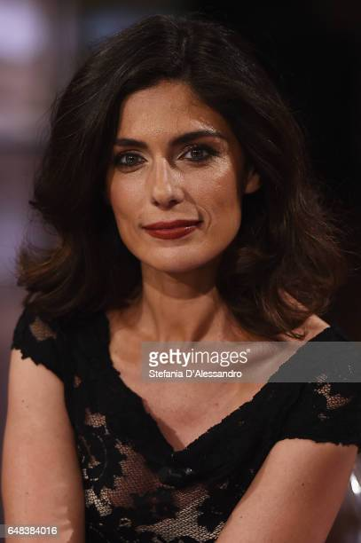 Anna Valle attends 'Che Tempo Che Fa' Tv Show on March 5 2017 in Milan Italy