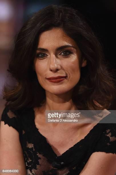 Anna Valle attends 'Che Tempo Che Fa' Tv Show on March 5 2017 in Milan Italy