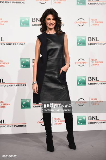 Anna Valle attends 'L'Eta' Imperfetta Photocall' photocall during the 12th Rome Film Fest at Auditorium Parco Della Musica on October 30 2017 in Rome...