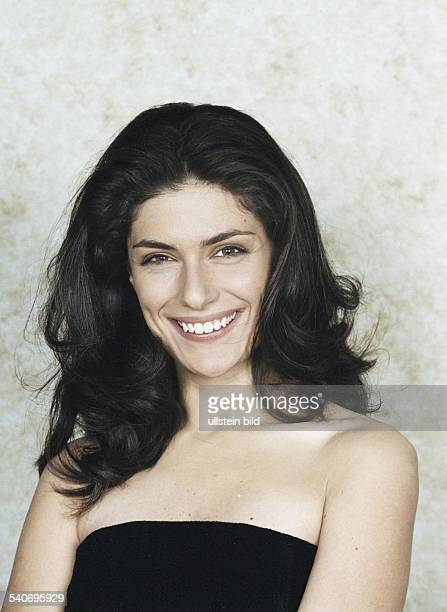 Anna Valle italienische Schauspielerin und ehemalige Schönheitskönigin Aufgenommen Dezember 1999