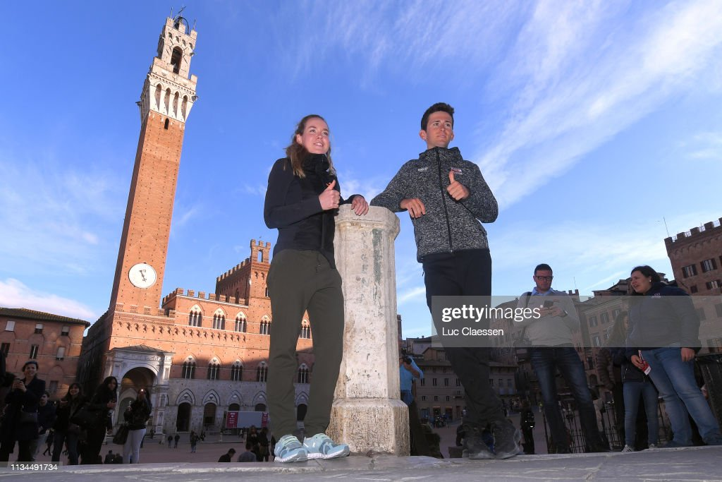 13th Strade Bianche 2019 Press Conference : ニュース写真