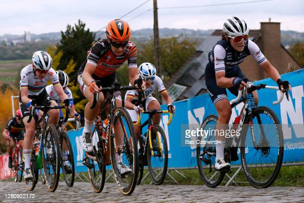 Anna Van Der Breggen of The Netherlands and Boels Dolmans Cycling Team / Amy Pieters of The Netherlands and Boels Dolmans Cycling Team / Elisa Longo...