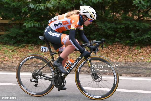 Anna Van Der Breggen of The Netherlands and Boels Dolmans Cycling Team / during the 15th Tour of Flanders 2018 Ronde Van Vlaanderen a 1509km women's...