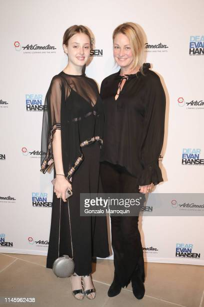 Anna Van Patten and Wendy Van Patten during the ArtsConnection 2019 Benefit Celebration at IAC Building on April 29, 2019 in New York City.