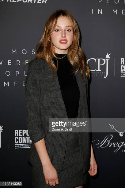 Anna Van Patten attends the The Hollywood Reporter's 9th Annual Most Powerful People In Media at The Pool on April 11 2019 in New York City