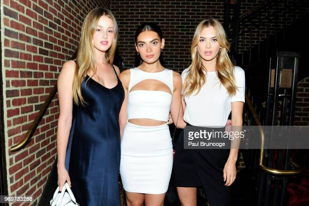 """Anna Van Patten, Rubina Dyan and Megan Williams attend YouTube With The Cinema Society Host A Screening Of """"Impulse"""" at The Roxy Cinema on June 7,..."""