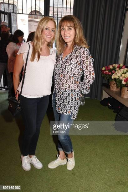 Anna Veronique El BazeÊ and Julie Nicolet attend ÊFrance Beard Championship 2017 Hosted by Beardilizer at Cite de la Roquette on June17 2017 in Paris...