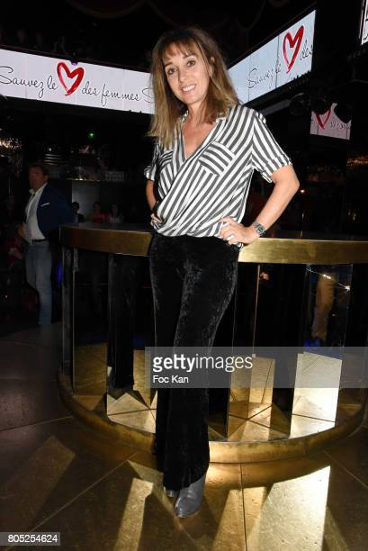Anna Veronique El Baze attends the 'Red Defile' Auction Fashion Show Hosted by Ajila Association Association Against Women Heart Disease at VIP Room...