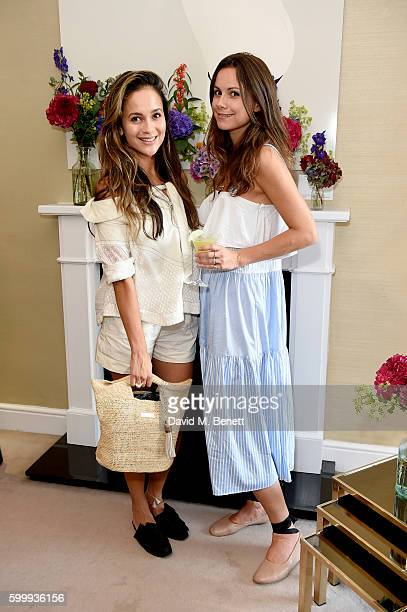 Anna Vitiello and Florrie Thomas attend a cocktail reception hosted by RACIL and MATCHESFASHIONCOM to celebrate the launch of Racil AW16 Collection...