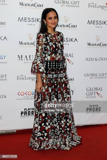 Anna Vitiello attends the Eva Longoria Global Gift Gala during the 70th annual Cannes Film Festival at on May 19 2017 in Cannes France