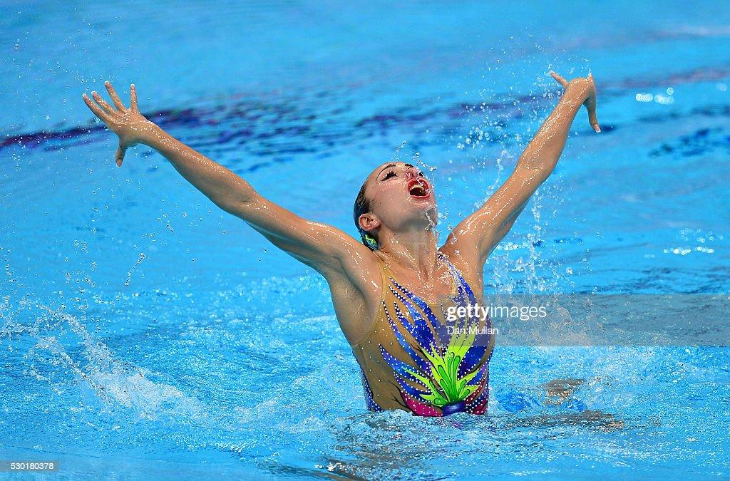 33rd LEN European Swimming Championships 2016 - Day 2