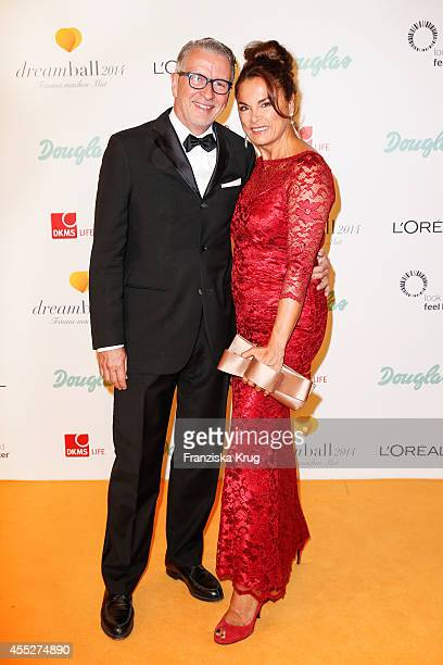 Anna von Griesheim and Andreas Marx attend the Dreamball 2014 at the Ritz Carlton on September 11 2014 in Berlin Germany