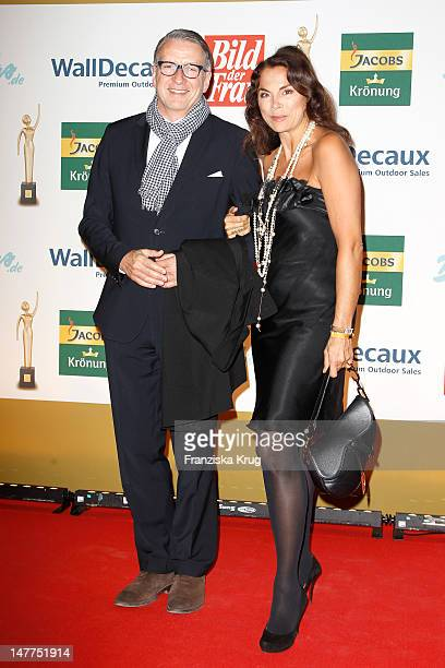 Anna von Griesheim and Andreas Marx attend the Golden wife Awards at the Axel Springer Haus on March 21 2012 in Berlin Germany