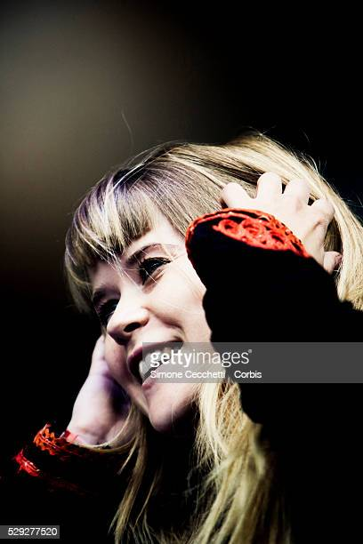 Anna von Hausswolff perform at the Way Out West Festival in Gothenburg