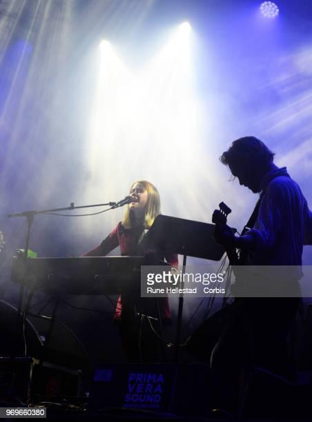 Anna Von Hausswolff performs at Prima Vera Sound at Parc Del Forum on May 31 2018 in Barcelona Spain