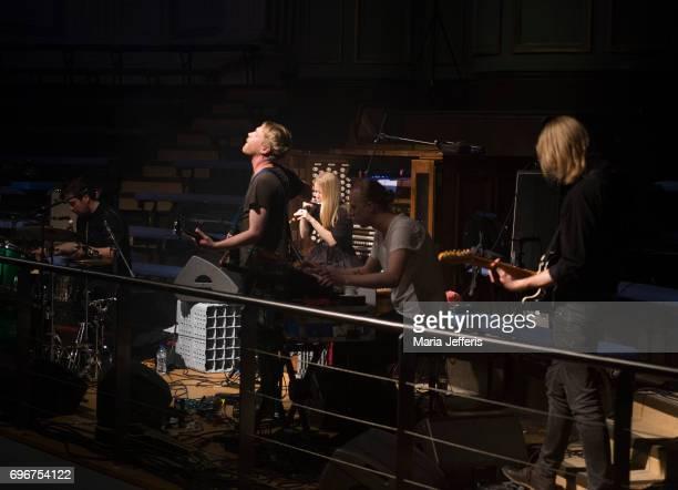 Anna Von Hausswolff performs during the Supersonic Festival on June 16 2017 in Birmingham England