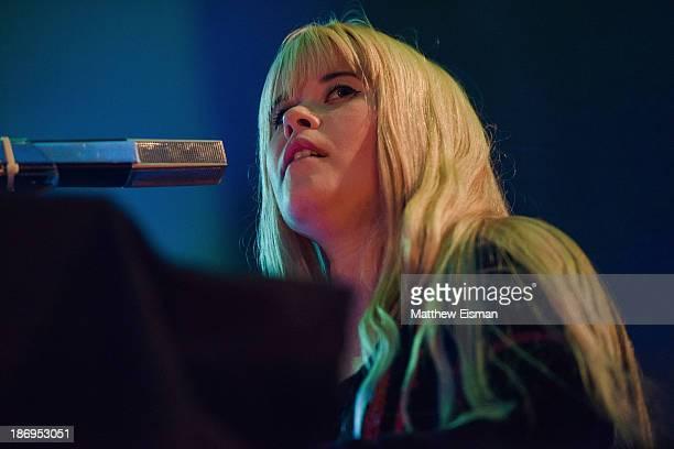 Anna Von Hausswolff performs on day 3 of the Iceland Airwaves Music Festival on November 1 2013 in Reykjavik Iceland