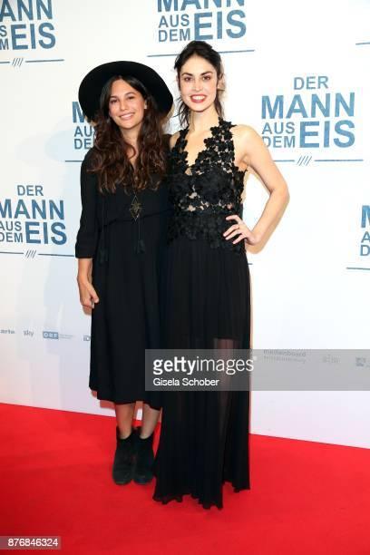 Anna Wappel and Violetta Schurawlow during the premiere of 'Der Mann aus dem Eis' at Cinemaxx on November 20 2017 in Munich Germany