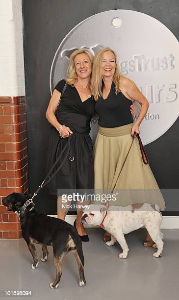 Anna Webb and Jo Good attend the Dogs Trust Honours Awards at Jasmine Studios on June 3 2010 in London England