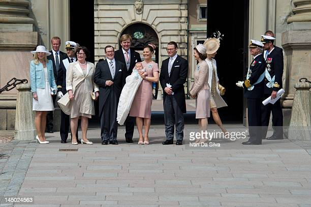 Anna Westling Prince Carl Philip of Sweden Ewa Westling Olle Westling Prince WillemAlexander of the Netherlands Princess Victoria of Sweden Princess...