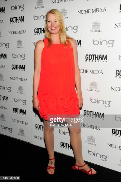 Anna Wilding attends ALICIA KEYS Hosts GOTHAM MAGAZINES Annual Gala Presented by BING at Capitale on March 15 2010 in New York City