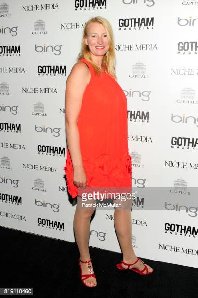 Anna Wilding attends ALICIA KEYS Hosts GOTHAM MAGAZINES Annual Gala Presented by BING at Capitale on March 15, 2010 in New York City.