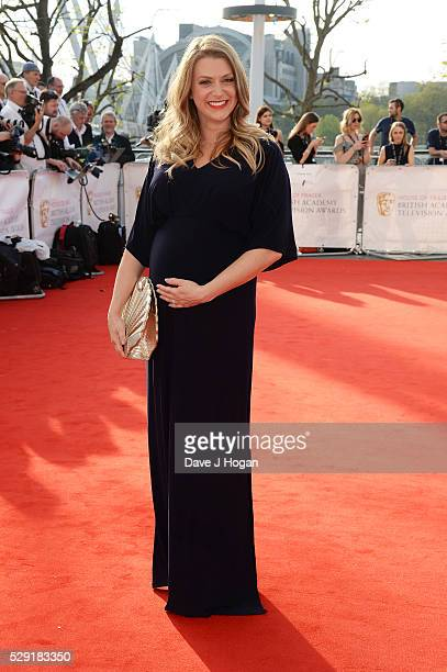 Anna Williamson attends the House Of Fraser British Academy Television Awards 2016 at the Royal Festival Hall on May 8 2016 in London England