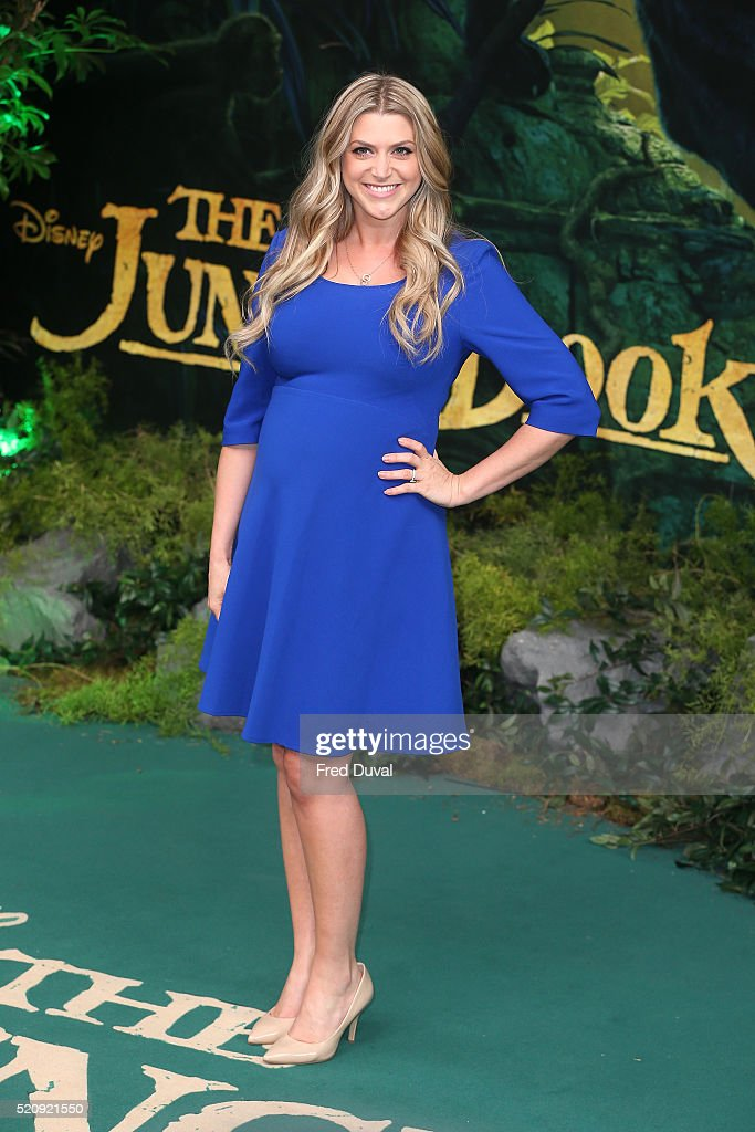 Anna Williamson attends the UK Premiere of 'The Jungle Book'at BFI IMAX on April 13, 2016 in London, England.