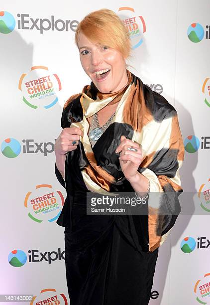 Anna Winslet arrives at the iExplore Ball in support of the Street Child World Cup Brazil 2014 at Indigo2 on April 19 2012 in London England