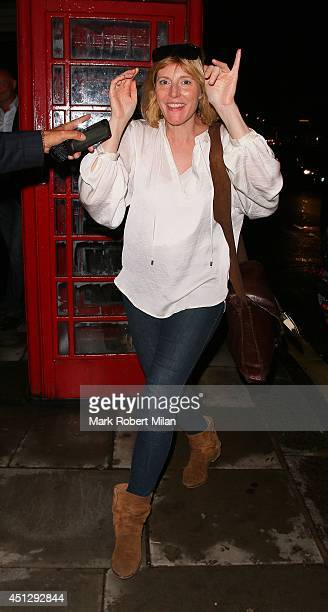 Anna Winslet at No41 at the Westbury on June 26 2014 in London England