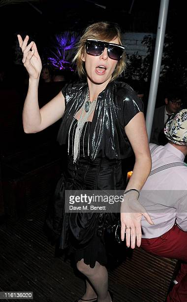 Anna Winslet attends Boy George's 50th Birthday celebration on June 14 2011 in London England