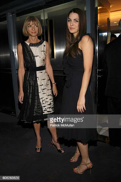 Anna Wintour and Bee Shaffer attend Twentieth Century Fox presents THE DEVIL WEARS PRADA Dinner and Private Auction hosted by the St Regis Hotel with...