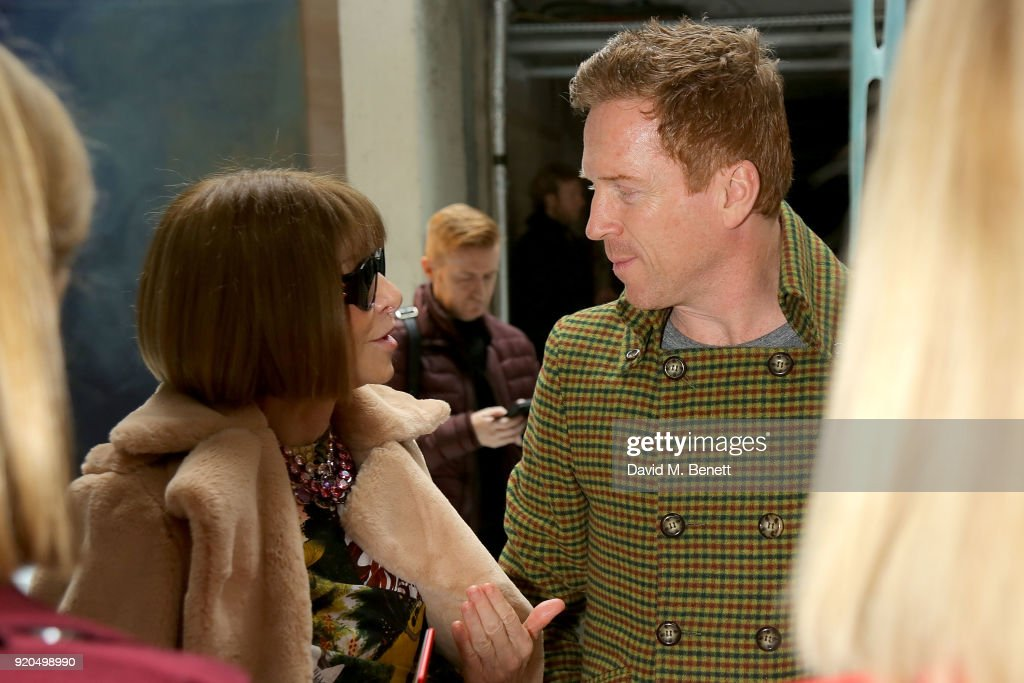 Roksanda - Front Row - LFW February 2018 : News Photo