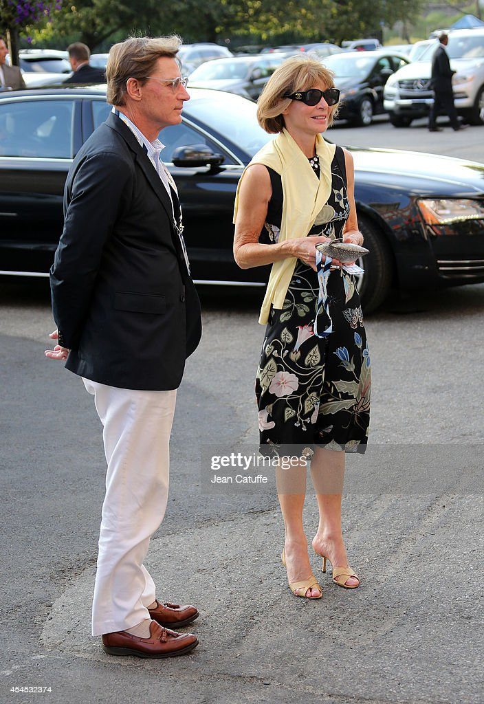 2014 US Open Celebrity Sightings - Day 9 : News Photo