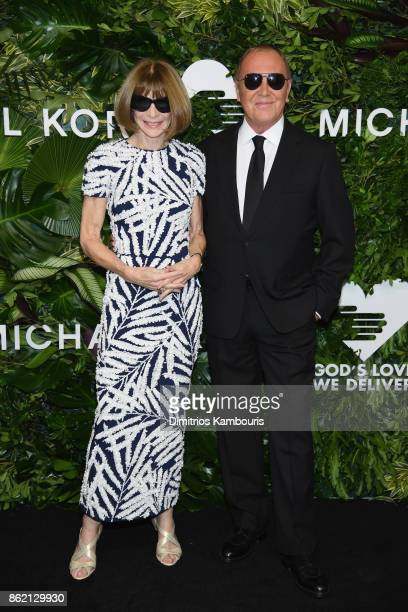 Anna Wintour and Michael Kors attend the 11th Annual Golden Heart Awards benefiting God's Love We Deliver on October 16 2017 in New York City