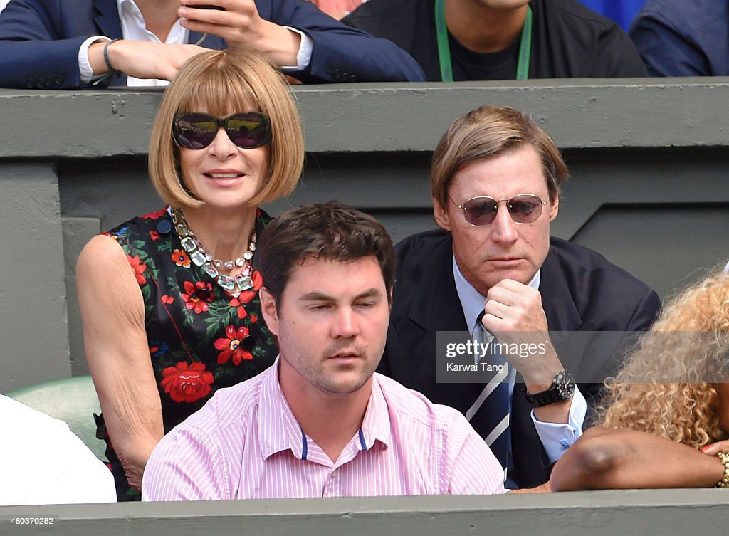 Celebrities At Wimbledon 2015 : Fotografía de noticias