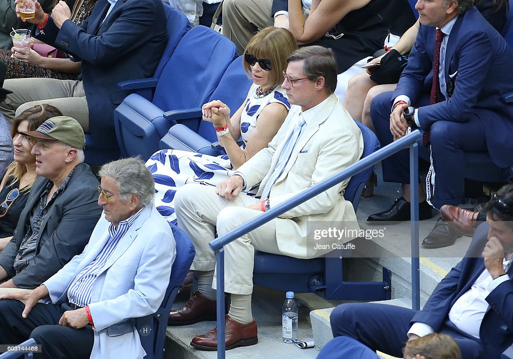 2016 US Open Celebrity Sightings - Day 14 : News Photo