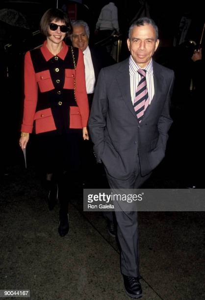 Anna Wintour and SI Newhouse