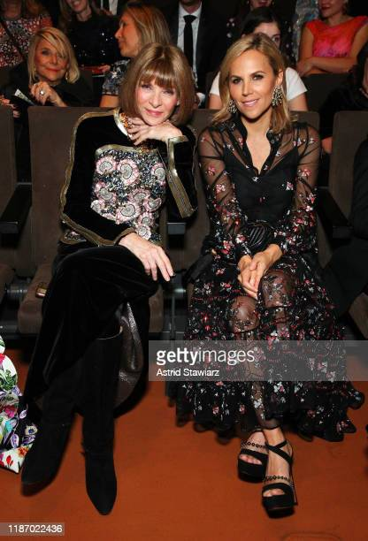 Anna Wintour and Tory Burch attend at the 2019 Glamour Women Of The Year Awards at Alice Tully Hall on November 11, 2019 in New York City.