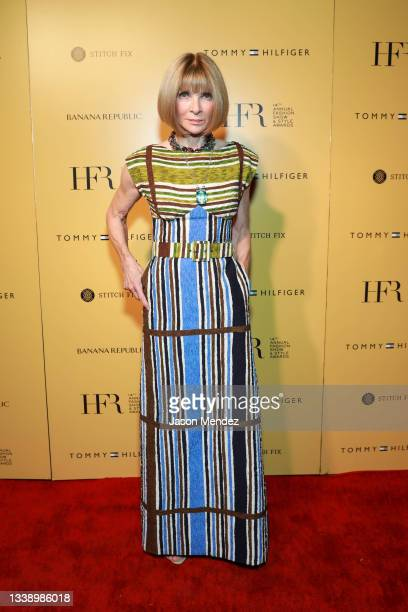 Anna Wintour attends Harlem's Fashion Row - September 2021 at New York Fashion Week: The Shows on September 07, 2021 in New York City.