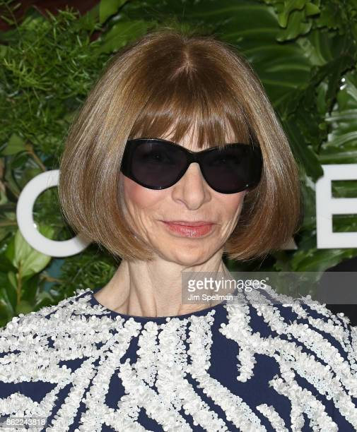 Anna Wintour attends the 11th Annual God's Love We Deliver Golden Heart Awards at Spring Studios on October 16 2017 in New York City