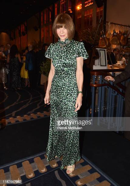 Anna Wintour attends the 13th Annual Golden Heart Awards at Cipriani South Street on October 21, 2019 in New York City.