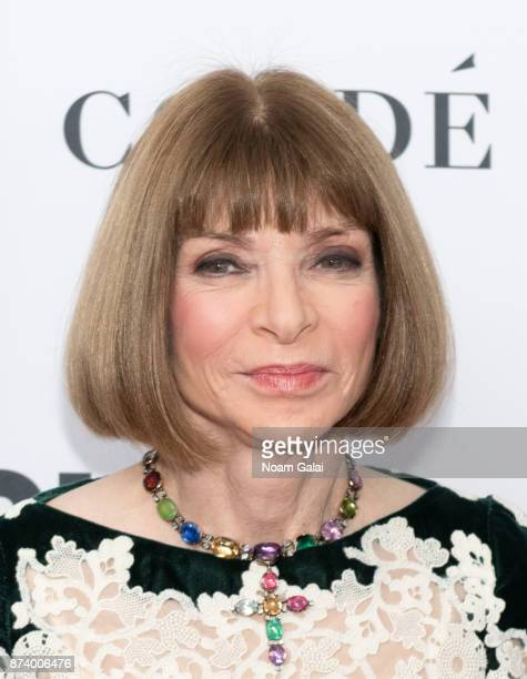 Anna Wintour attends the 2017 Glamour Women of The Year Awards at Kings Theatre on November 13 2017 in New York City