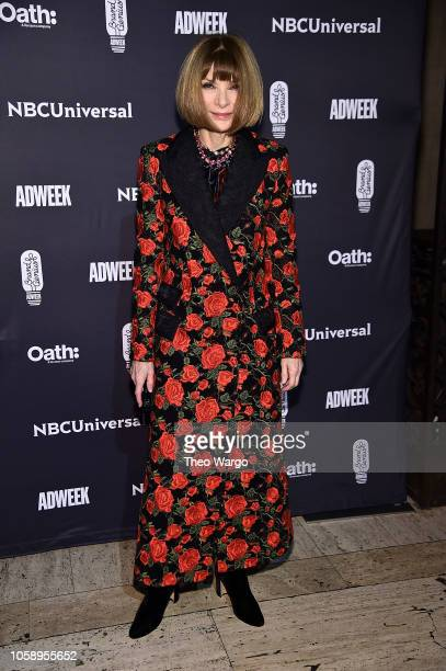 Anna Wintour attends the 2018 Brand Genius Awards at Cipriani 25 Broadway on November 7 2018 in New York City