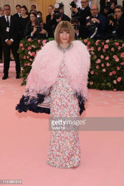 "Anna Wintour attends the 2019 Met Gala celebrating ""Camp: Notes on Fashion"" at The Metropolitan Museum of Art on May 6, 2019 in New York City."