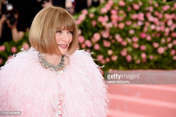 Anna Wintour attends The 2019 Met Gala Celebrating Camp Notes on Fashion at Metropolitan Museum of Art on May 06 2019 in New York City