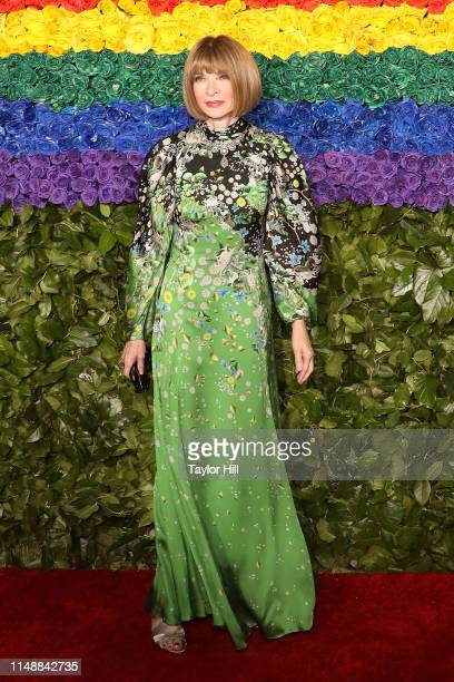 Anna Wintour attends the 2019 Tony Awards at Radio City Music Hall on June 9 2019 in New York City