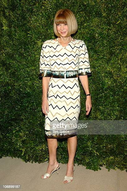 Anna Wintour attends the 7th Annual CFDA/Vogue Fashion Fund Awards>> at Skylight SOHO on November 15 2010 in New York City