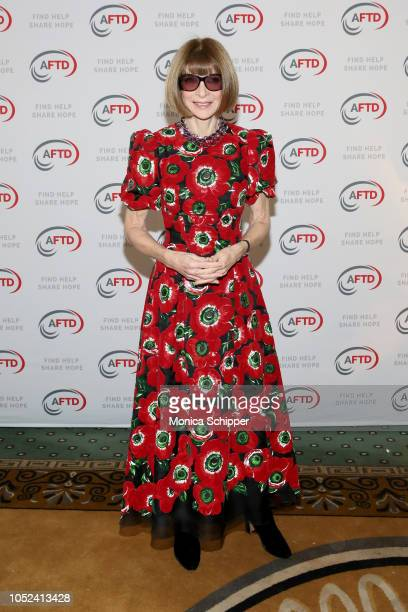 Anna Wintour attends The Association For Frontotemporal Degeneration's Hope Rising Benefit at The Pierre Hotel on October 17 2018 in New York City